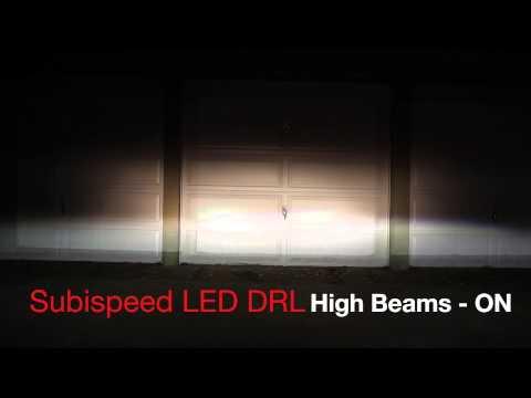 SubieSpeed DRLS: At Night