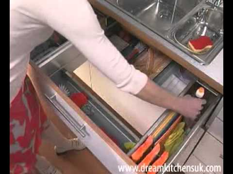 Blum - Install a Drawer under the Sink