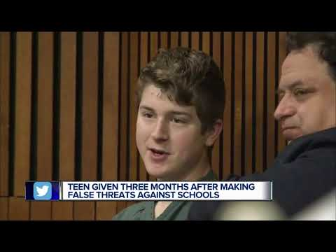 Teen who made threats to Plymouth-Canton schools sentenced to 3 months in jail
