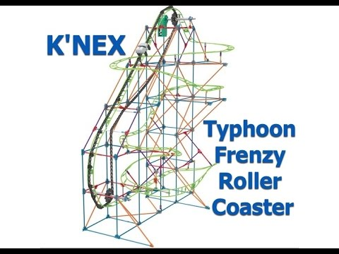 K'NEX (Knex) Typhoon Frenzy Roller Coaster Building Set Review