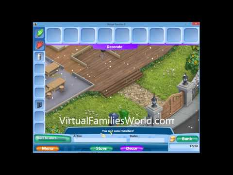 How To Sell Items On Virtual Families 2 Walkthrough