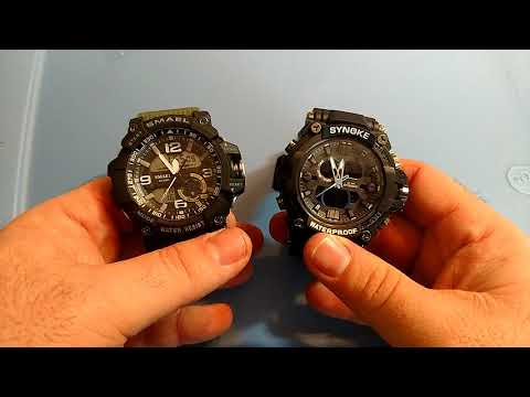 Synoke watches are they are decent g-shock clone or garbage?