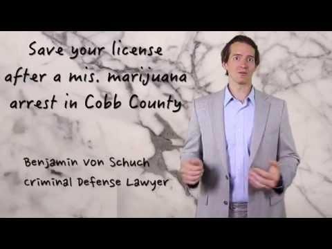 Save your license after a marijuana arrest in Marietta or Atlanta | Atlanta Lawyer