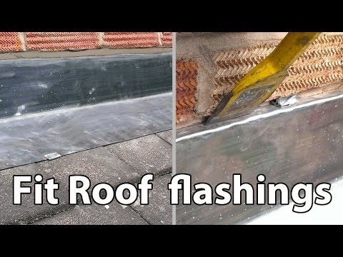 How to Install Lead Roof Flashings - Easy fit roof flashing DIY