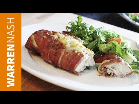 Chicken Wrapped in Parma Ham - great for dinner parties - Recipes from FitBrits.com