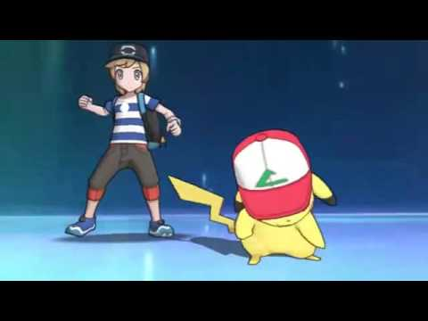Pokémon Sun and Moon - Ash Pikachu Z Move 10,000,000 Volt Thunderbolt