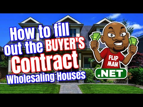 How to Fill Out Your Real Estate Contracts for Your Cash Buyers