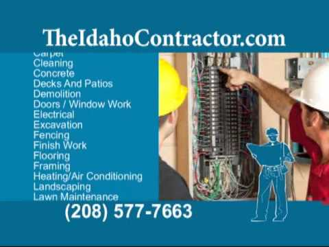 The Idaho Contractor - We provide you with the Best Contractor's bids in Idaho!