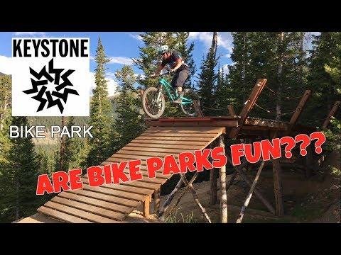 MY FIRST BIKE PARK | Keystone Bike Park, CO