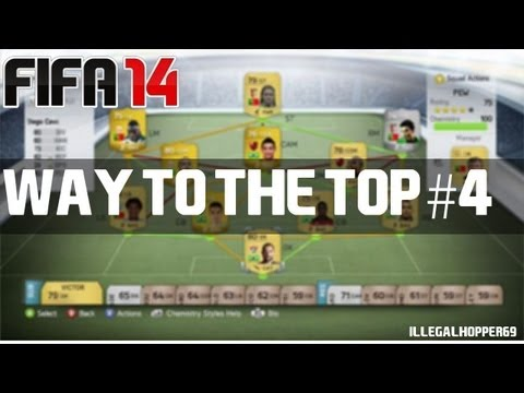 FIFA 14 Ultimate Team - Way To The Top #4 - Skilling Is a Habbit