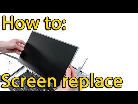 Acer Aspire E1-522, Gateway NE522 disassemble and replace screen, как разобрать и поменять матрицу