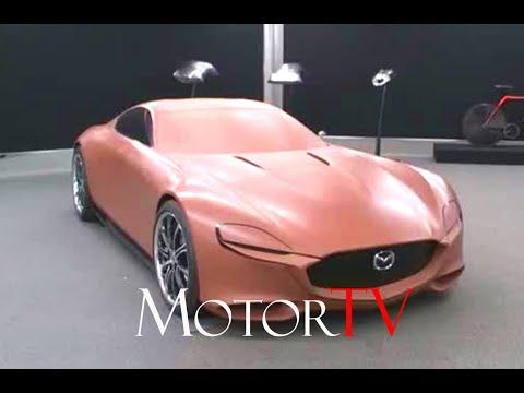 CAR DESIGN : MAZDA CLAY MODELING l RX VISION l  Clip
