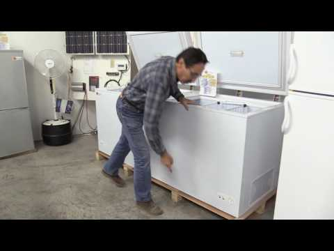 Missouri Wind and Solar New DC Sunstar Freezers and Refrigerators