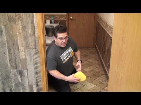 Cleaning Travertine Bath Floor