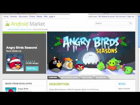 Android Marketplace Web Store