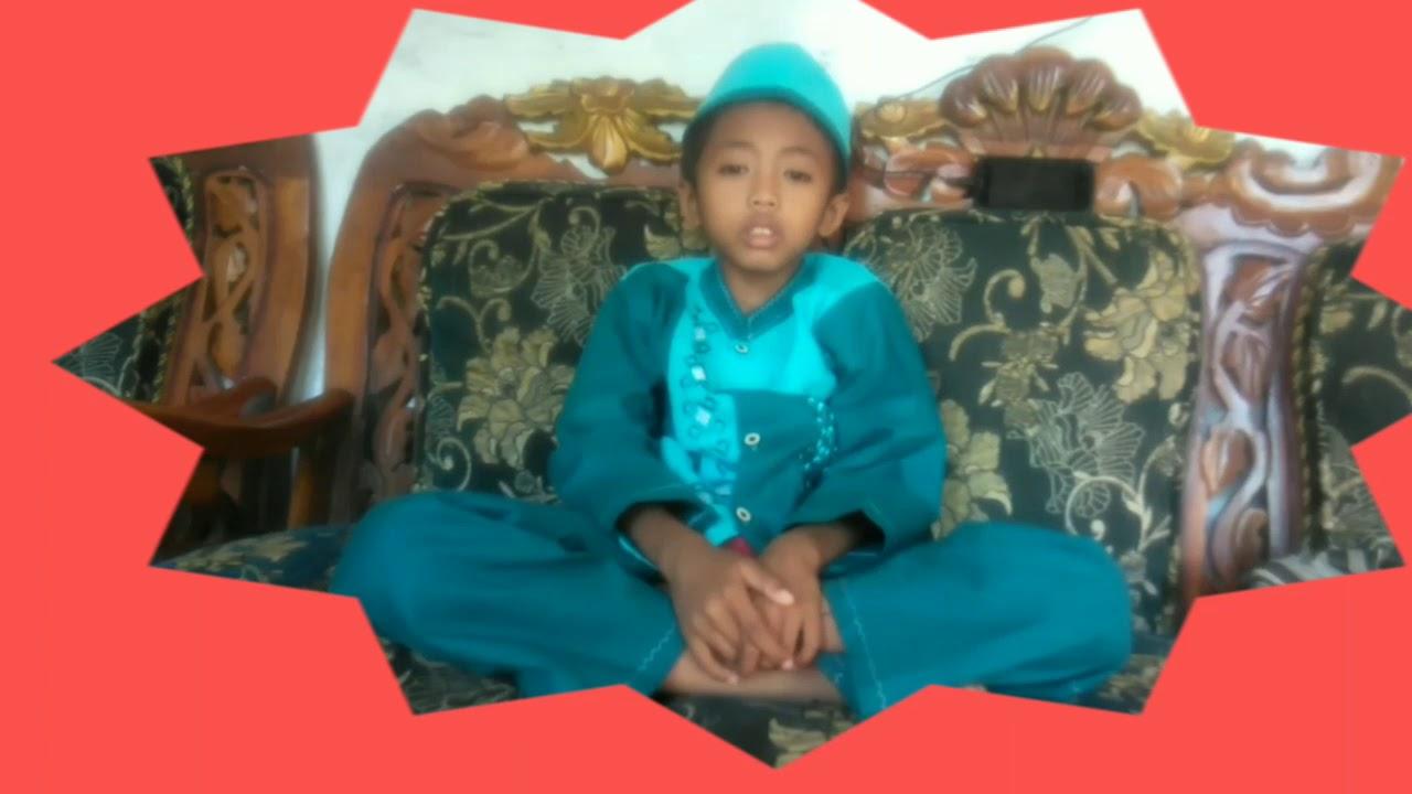 ASMAUL HUSNA (Runa & Syakira) by Galang Putra usia 8 tahun