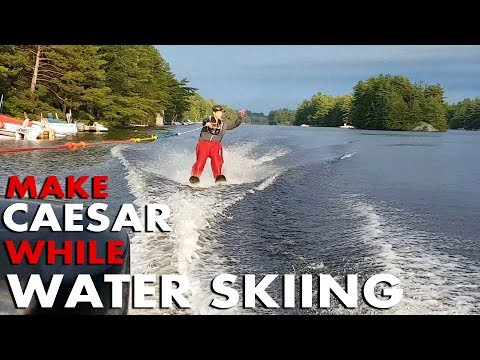 Canadian makes Caesar while Water Skiing (GoPro Canada 150)