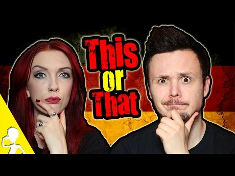 This or That Tag | Get Germanized feat. Claudia