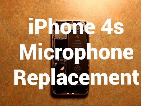 IPhone 4s Microphone Replacement How To Change