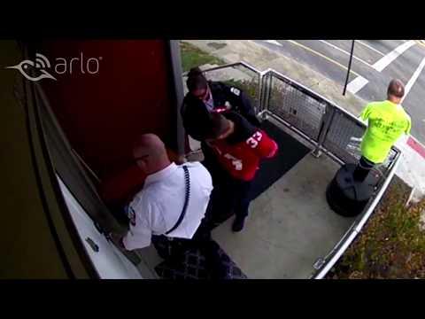 Caught on Arlo: Attempted Break-In
