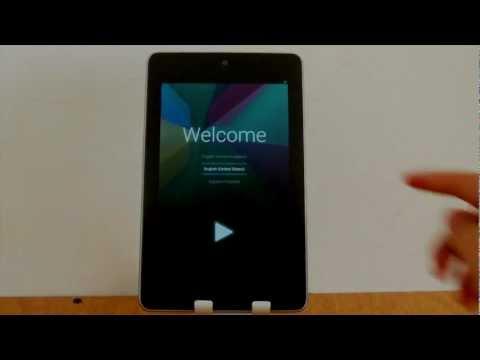 Como resetear formatear reiniciar a fabrica Nexus 7 Google Jelly Bean Android