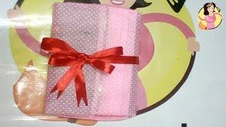 Diy# طريقة تغليف هدايا | تغليف هدية كتاب من #اشغال #شطورة