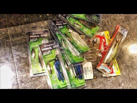 BUY 5 Get 5 FREE Fishing Lures!!