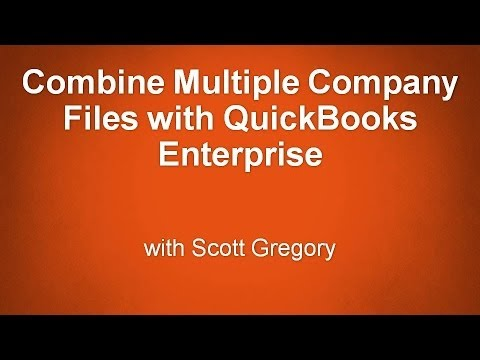 Combining Multiple QuickBooks Company Files for Reporting