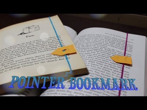 POINTER BOOKMARK!! || DIY OWN DESIGN!!! || CraftyCreations