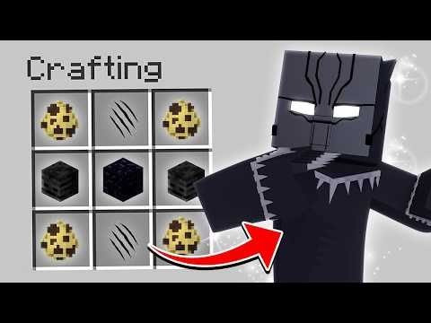 HOW TO SUMMON BLACK PANTHER IN MINECRAFT
