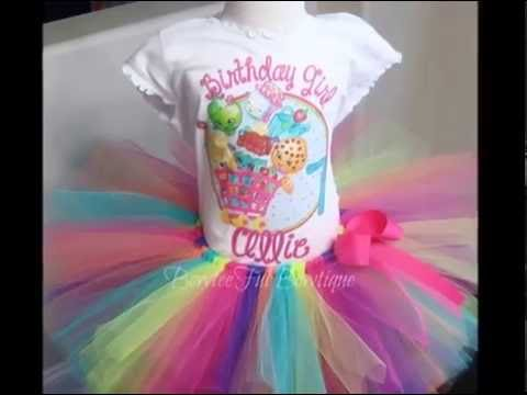 How to make a tutu - NO SEW -DIY TUTU Tutorial- SHOPKINS TUTU