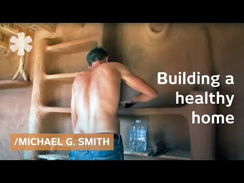 DIY home from earth and straw