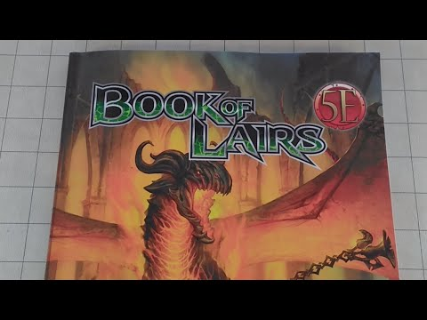 D&D (5e): Book of Lairs Review, Kobold Press (Spoilers).