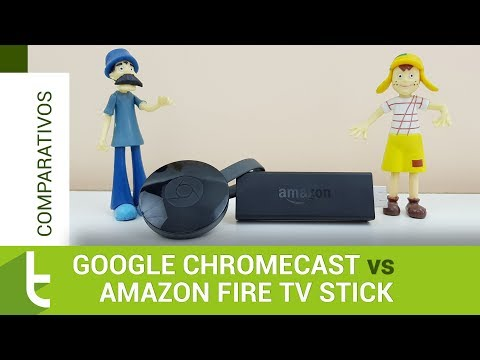 Google Chromecast ou Amazon Fire TV Stick: qual dongle é ideal para você? #comparativo