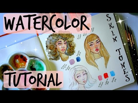Skin Tone Watercolor Tutorial