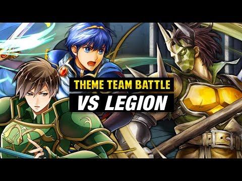 INFERNAL Legion GHB Vs. Marth & New Mystery of the Emblem Units - Fire Emblem Heroes Theme Team