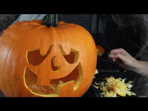 How to Carve a Pumpkin – Made Easy Using Stencils