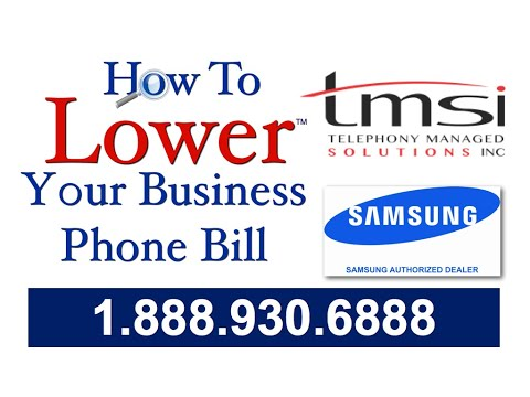 TEN THINGS YOU MUST KNOW ABOUT BELL OR TELUS PHONE BILL AND BUSINESS PHONE SYSTEMS BY TMSI 4/10