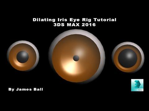 Dilating Iris Eye Rig Tutorial   3DS Max