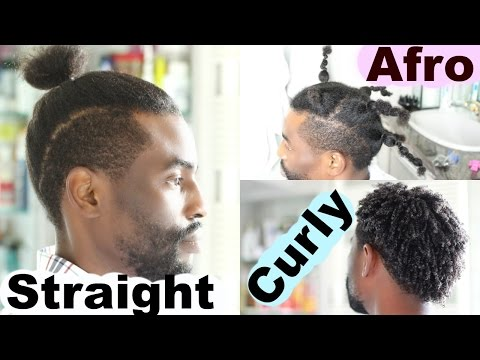 From Curly To Afro To Straight Hair - Men Hairstyles   Josiphia Rizado