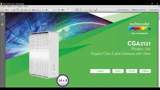 Ingresar al panel de configuración de un Cablemodem