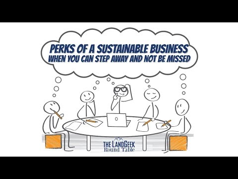 ROUND TABLE—Perks Of A Sustainable Business—When You Can Step Away And Not Be Missed