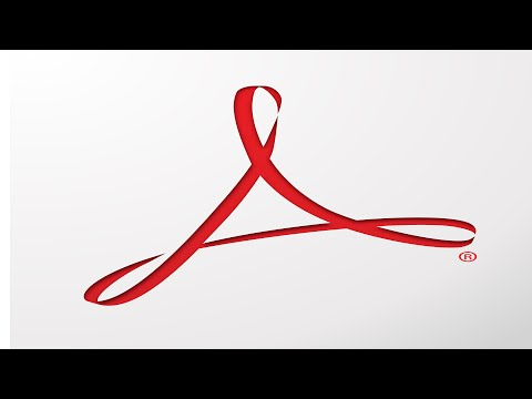 How to type into a form in Adobe Reader.