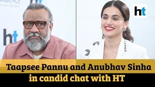 Taapsee Pannu and Anubhav Sinha talk about Thappad at HT Imagine fest