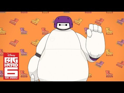 Baymax and Go Go (Short) | Big Hero 6 The Series | Disney Channel