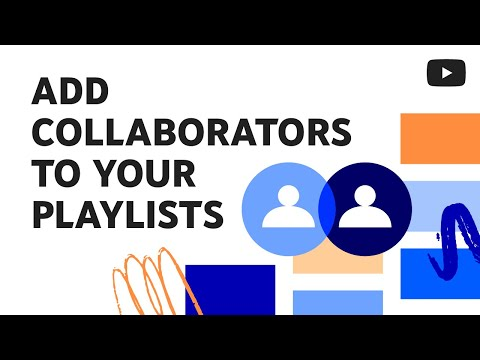 Add collaborators to your playlists