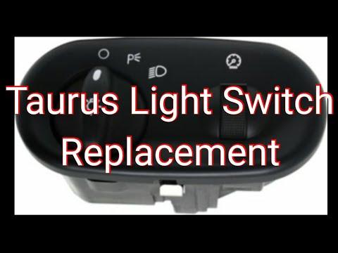 2007 Ford Taurus SE - Headlight SwitchReplacement