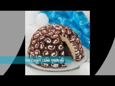 Beautiful Ice Cream Cake Recipes