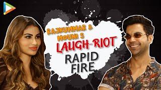CRAZY- Rajkummar & Mouni's Rapid Fire on SRK, Salman, Hrithik, Alia, Kartik & Vicky | Made In China