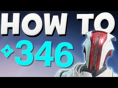Destiny 2 - HOW TO GET ABOVE 345 POWER EASY !!